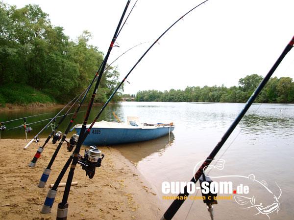 рыбалка в астрахани на сома в апреле