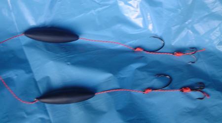 подводный поплавок для ловли сома